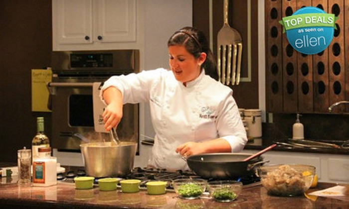 The Chef Next Door - Big Cove Commons: BYOB Cooking Demonstration and Dinner for One or Two at The Chef Next Door (Half Off)