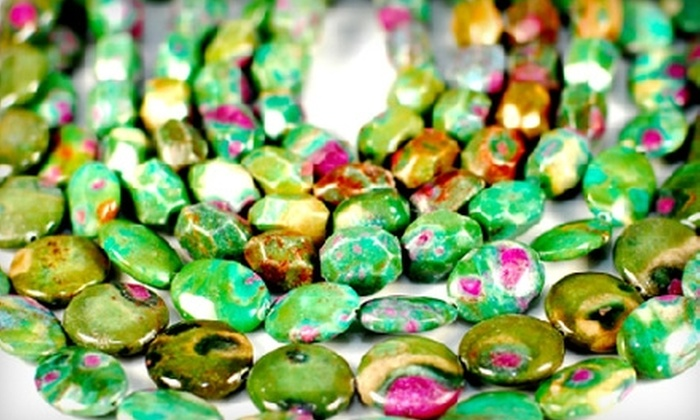 Sea of Beads - North Shoal Creek: $15 for an Introduction to Jewelry Beading Class at Sea of Beads ($30 Value)