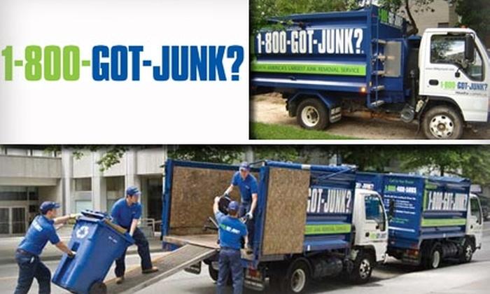 Half Off Junk Removal 1 800 Got Junk Utah Groupon