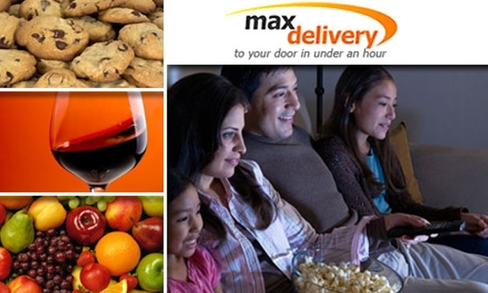 MaxDelivery.com - New York City: $30 for Six Months of Unlimited DVD Delivery and $10 Credit at MaxDelivery.com ($106 Value)