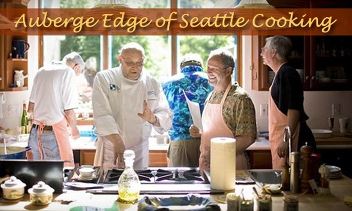 Auberge Edge of Seattle Cooking - Cottage Lake: $75 for a Four-Hour French Cooking Class at Edge of Seattle Specialty Cooking School in Woodinville ($150 Value)