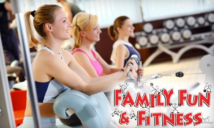 Family Fun & Fitness - Sugar Creek: $35 for Five-Class Punch Card at Family Fun & Fitness ($75 Value)