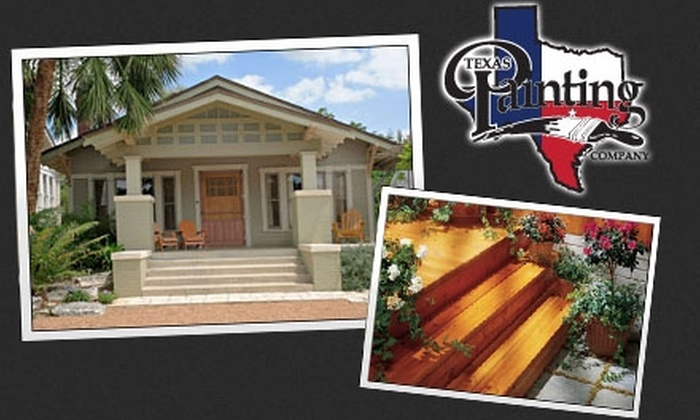Texas Painting Company - Austin: $125 for a Complete Exterior Power Wash from Texas Painting Company ($275 Value)