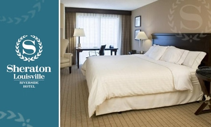 Sheraton Louisville Riverside Hotel - Jeffersonville: $60 Room at the Sheraton Louisville Riverside Hotel