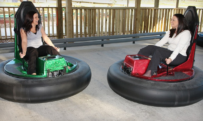 Adventure Kingdom - Lumberton: Unlimited Mini Golf, Bumper Cars, and Paddleboats for Two or Four at Adventure Kingdom in Lumberton (Up to 52% Off)