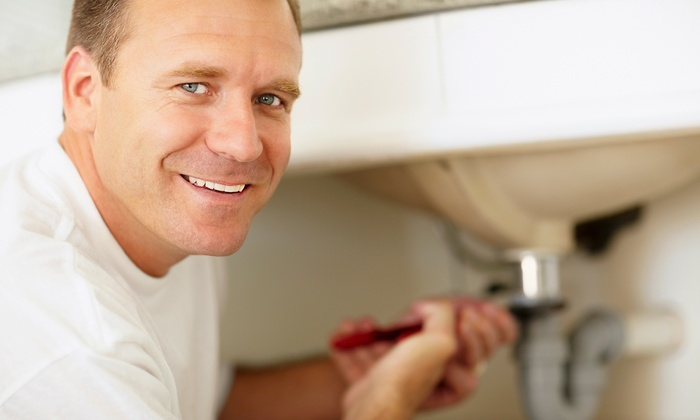 1800PLUMBING - Tucson: Sewer-Line Routing or Cleaning, or Water-Heater Flush and Plumbing Inspection from 1800PLUMBING (Up to 62% Off)