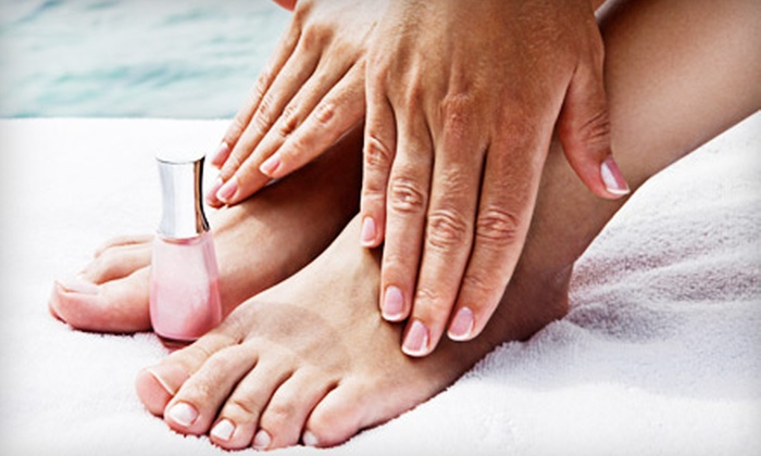 High Maintenance Hair and Nail Studio - Oak Ridge: $25 for Manicure and a Detox Pedicure at High Maintenance Hair and Nail Studio in Oak Ridge ($60 Value)