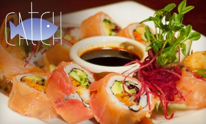Catch - San Francisco: $20 for $40 Worth of Fresh Seafood at Catch