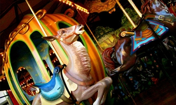 Paradise Valley Mall - Paradise Valley: $5 for a 10-Ride Carousel Punch Card at Paradise Valley Mall ($10 Value)