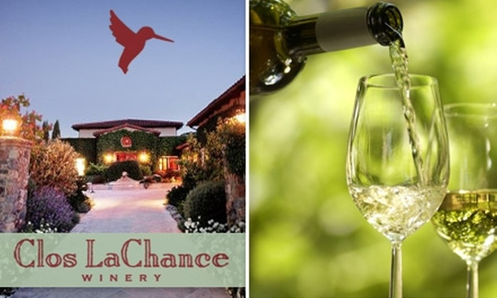 Clos LaChance Wines - San Jose: $20 for a VIP Tour & Tasting Plus a Bottle of Wine to Take Home from Clos LaChance Winery ($40 Value)