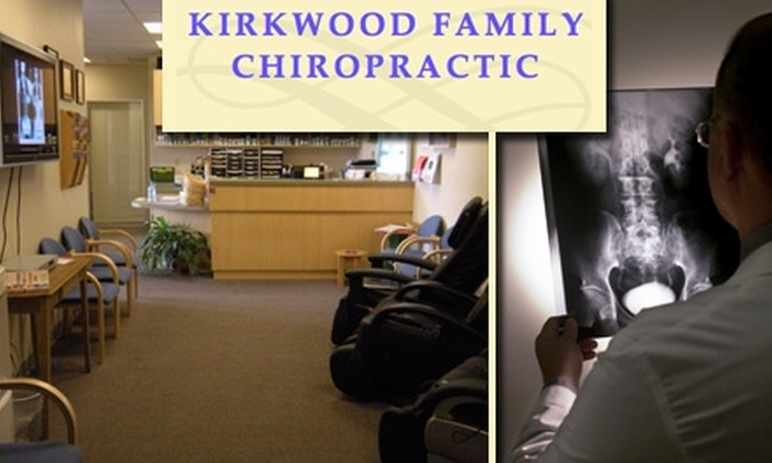 Kirkwood Family Chiropractic - Campbell: $39 for a Chiropractic Exam, X-Rays, and One-Hour Back Massage at Kirkwood Family Chiropractic (Up to $233 Value)