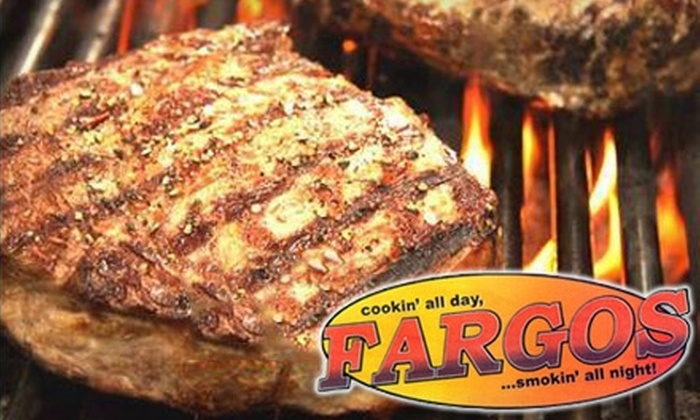 Fargos - Terrace Heights: $15 for $30 Worth of Hearty Fare and Drinks at Fargos