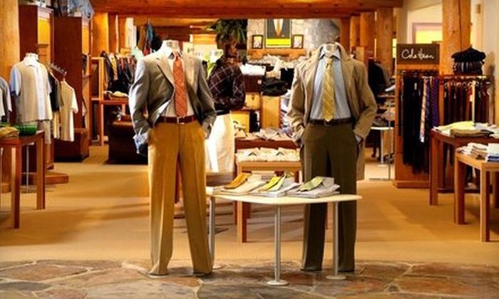 Fitzgerald's Men's Store - Grand Rapids: $50 for $100 Worth of Men's Apparel at Fitzgerald's Men's Store
