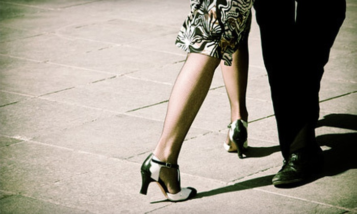 Blue Suede Ballroom - Lakes of Forest Hill: Dance-Instruction Package for Singles or Couples or Four Group Lessons for One at Blue Suede Ballroom (Up to 76% Off)