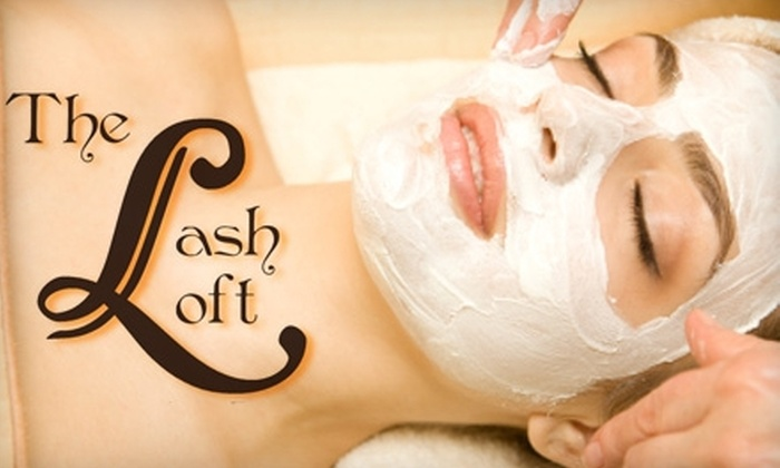 The Lash Loft Day Spa - Downtown St. Louis: $30 for a Customized Facial or Rejuvenating Herbology Body Retexturizer from The Lash Loft Day Spa (Up to $85 Value)