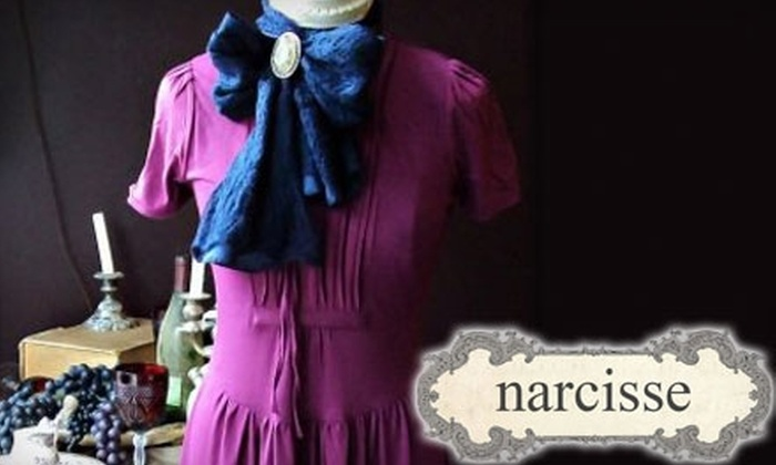 Narcisse - Downtown: $25 for $50 Worth of Clothing and Accessories at Narcisse