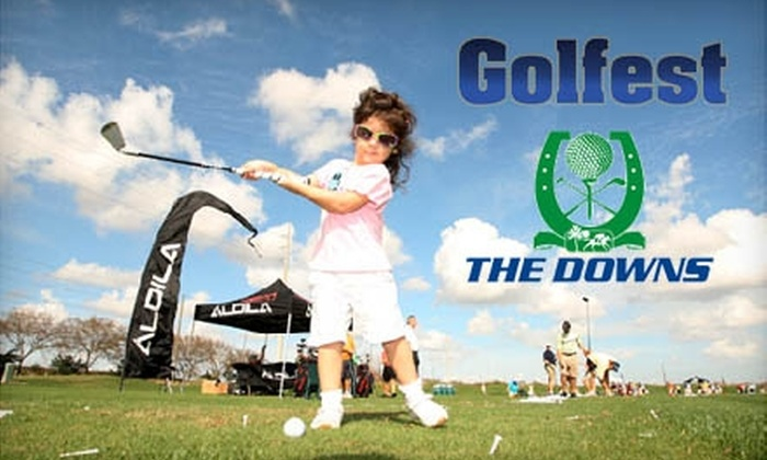 Tampa Bay Downs - Citrus Park-Fern Lake: $20 for a Two-Day Pass to Golfest and Two Large Buckets of Balls at Tampa Bay Downs ($43 Value)