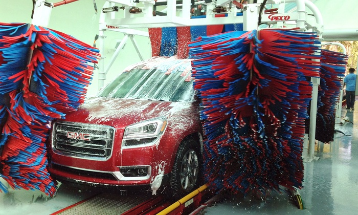 East Trail Auto Spa & Cafe - East Trail Auto Spa: Two or Four Deluxe Car Washes at East Trail Auto Spa (50% Off)