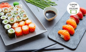 Kittara Sushi: Kittara Sushi – Portão: combo com yakissoba, combinado de salmão e hot filadélfia