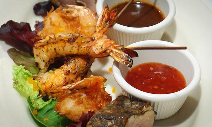 Hibiscus Restaurant - Morristown: Jamaican Dinner or Sunday Jazz Brunch at Hibiscus Restaurant (Up to 50% Off)