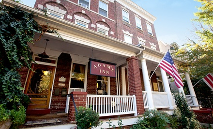 Stay at Adam's Inn Bed & Breakfast in Washington, DC. Dates into March.