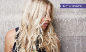 Moxie Blowdry & Beauty Bar: Haircut with Option for Color or Highlights at Moxie Blowdry & Beauty Bar (Up to 72% Off). Four Options.