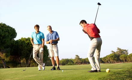 Golf Outing for Two or Four Including Cart Rental and Range Balls at Weissinger Hills Golf Course (Up to 46% Off)