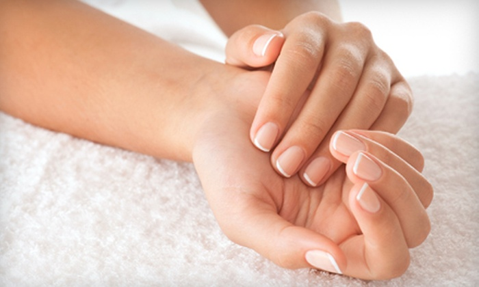 Nails by Joanne - Mountain View South,Downtown Los Altos,Green Acres: $25 for a Deluxe Mani-Pedi at Nails by Joanne in Los Altos ($60 Value)