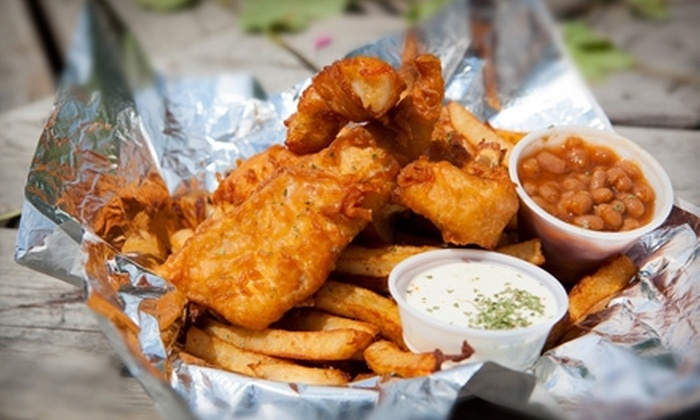 Mrs. D's Fish Shack & Poutinerie - Kenora: $10 for $20 Worth of Gourmet Street Fare at Mrs. D's Fish Shack & Poutinerie in Kenora