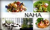 NAHA Restaurant - Near North Side: $40 for $80 Worth of Contemporary American Cuisine and Drinks at NAHA