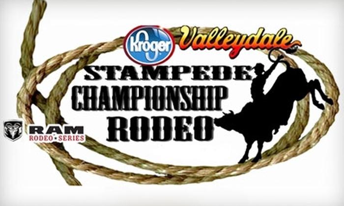 Stampede Championship Rodeo - Salem: $7 for Reserved Seating at the Stampede Championship Rodeo on January 7 ($15 Value)