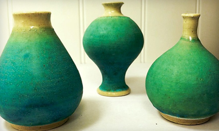 Tucson Clay Co-op - Rillito River Side Acres: $19 for a Friday Night Pottery Party for Two at Tucson Clay Co-op ($40 Value)