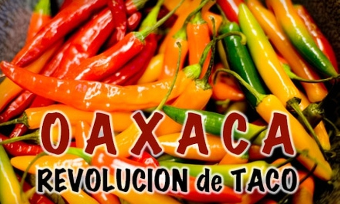 Oaxaca - Multiple Locations: $5 For Three Tacos or Enchiladas at Oaxaca (Up to a $12.75 value)