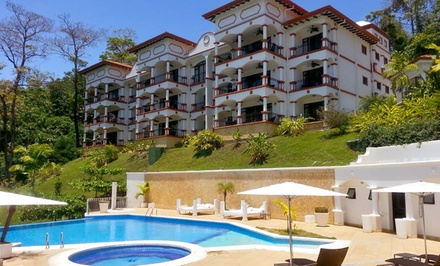 groupon daily deal - 3-, 4-, or 5-Night Stay for Up to Six at The Ocean Club of Manuel Antonio in Puntarenas, Costa Rica
