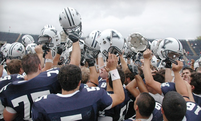 Yale Bulldogs - West Haven: $24 for an Outing for Two to the Yale Bulldogs Football Game Against Georgetown at the Yale Bowl in West Haven on September 17 ($49 Value)