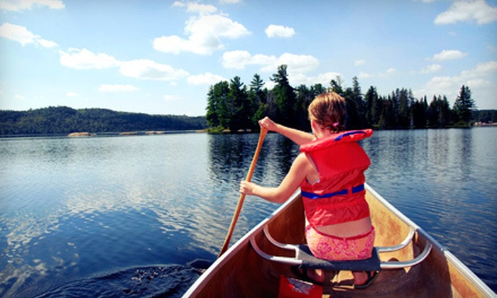 Gunflint Northwoods Outfitters - East Cook: $399 for a Four-Night Outfitted Canoe Trip for Two from Gunflint Northwoods Outfitters in Grand Marais ($806 Value)