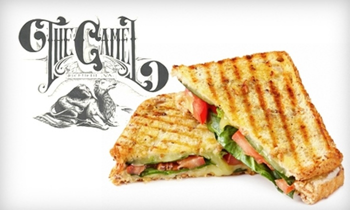 The Camel - The Fan: $10 for $20 Worth of Eclectic Fare and Drinks at The Camel