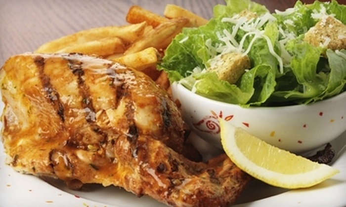 Nando's Flame-Grilled Chicken - Multiple Locations: $10 for $20 Worth of Peri-Peri Fare at Nando's Flame-Grilled Chicken