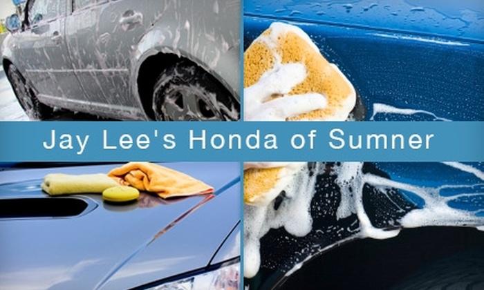 Jay Lee's Honda of Sumner - Sumner: Auto Services at Jay Lee's Honda of Sumner. Two Options Available.