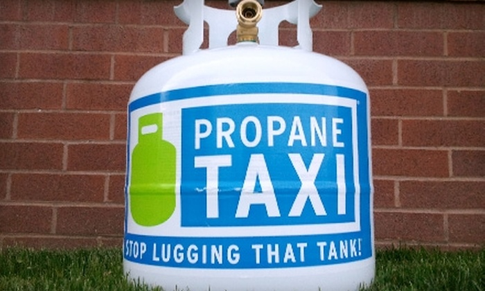Propane Taxi: $10 for Propane Tank Exchange from Propane Taxi (Up to $23.99 Value)