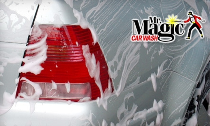 Mr. Magic Car Wash - Multiple Locations: $18 for Three Signature Carwashes at Mr. Magic Car Wash (a $36 Value)