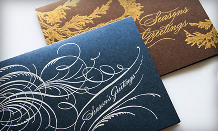 Marsupial Pouches & Papers: 50 Holiday Cards or $20 for $40 Worth of Holiday Cards from Marsupial Pouches & Papers