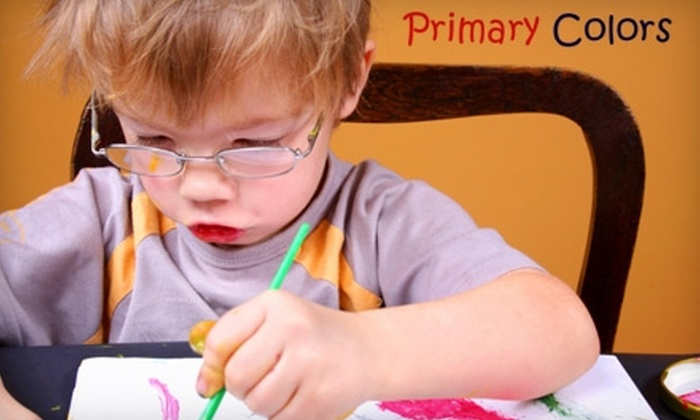 Primary Colors - San Antonio: $60 for a Children's Month-Long Arts and Crafts Workshop at Primary Colors (Up to $145 Value)