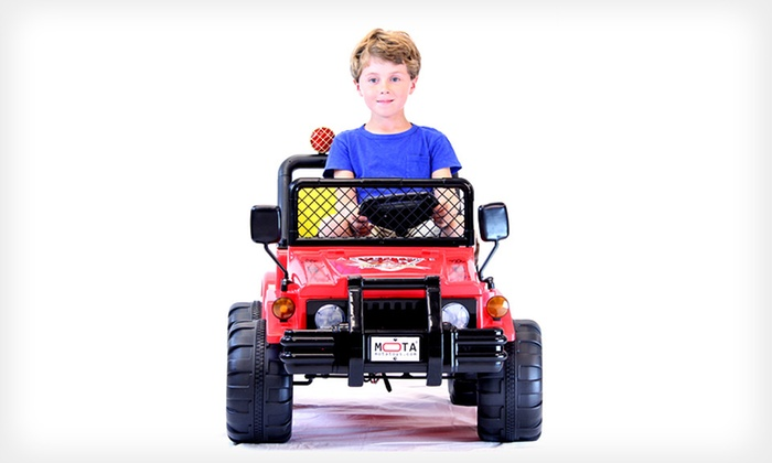 Mota Kids' Ride-On: $199 for a Mota Double-Engine Kids' Ride-On ($471.45 List Price). Free Returns.