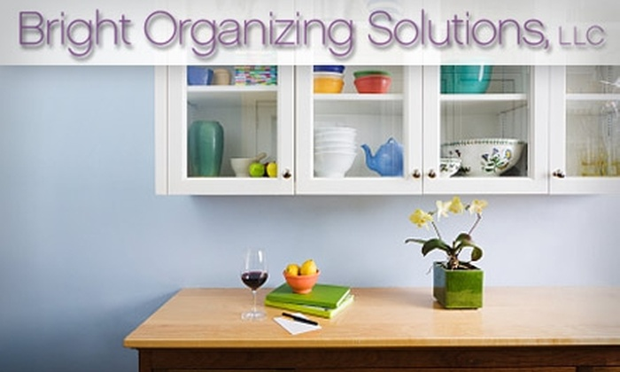 Bright Organizing Solutions - New Orleans: $50 for Two Hours of Professional Organizing from Bright Organizing Solutions ($100 Value)