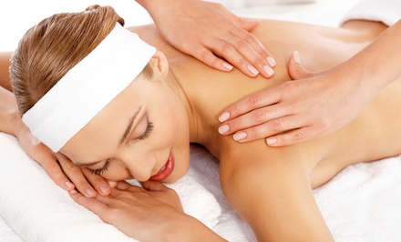 $54.99 for a 75-Minute Full-Body Massage at   Infinity Salon and Spa ($110 Value)