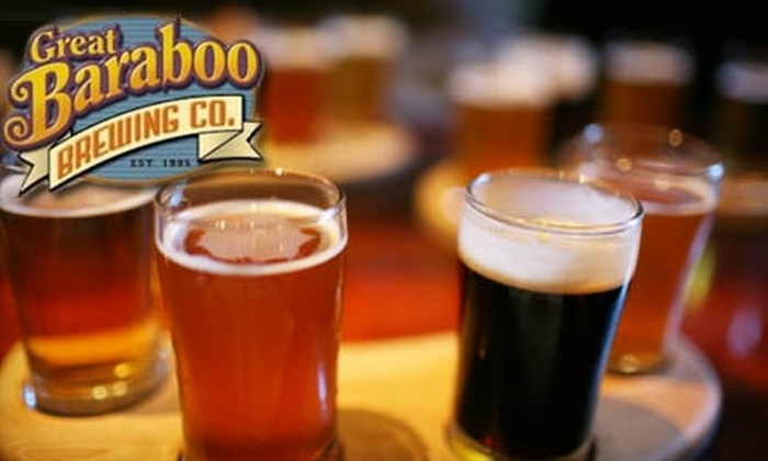 Great Baraboo Brewing - Clinton Township: $15 for $30 Worth of American Fare and Drinks at Great Baraboo Brewing