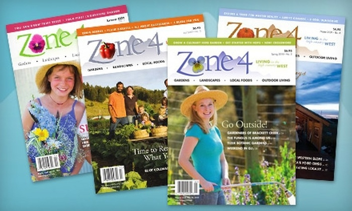 "Zone 4 Magazine - Fort Collins: $12 for a One-Year Subscription to ""Zone 4"" Magazine ($24 Value)"