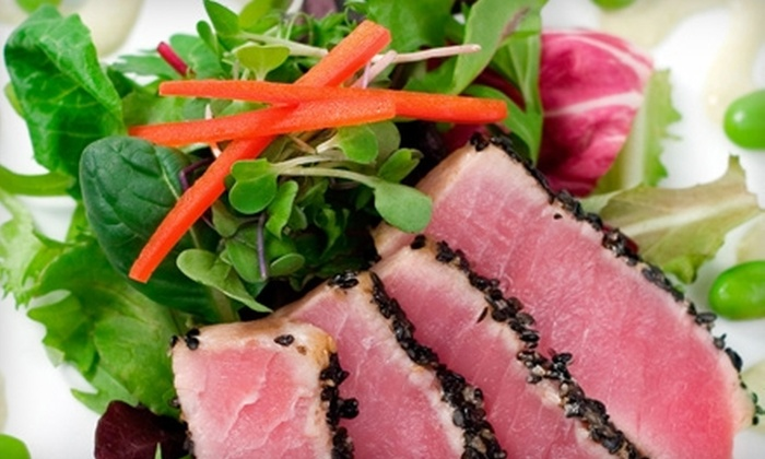 The Scarlet Tree - Roosevelt: $10 for $23 Worth of Lounge Fare and Drinks at The Scarlet Tree