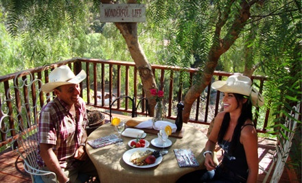 60-Minute Friday-Morning Horseback Ride with a Lunch for 2 or Coffee and Donuts (a $170 value) - Los Angeles Horseback Riding in Topanga